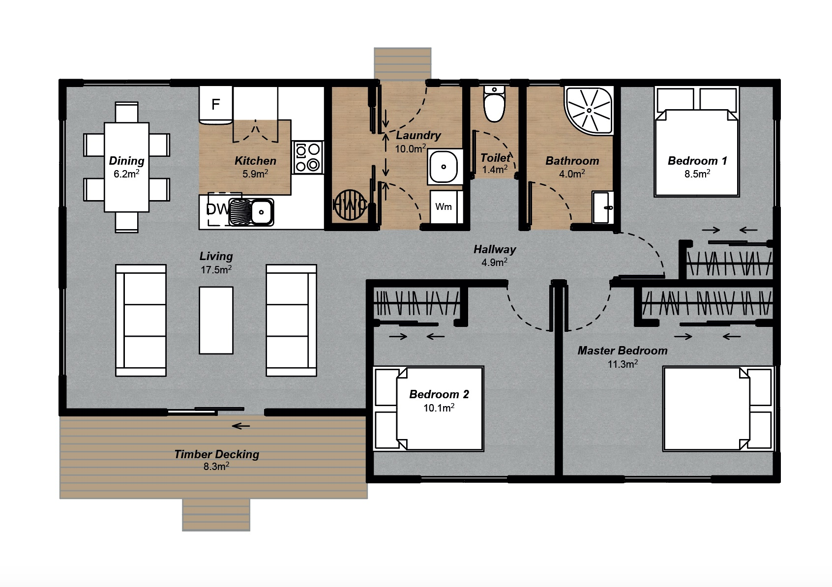 2IC farm home floorplan