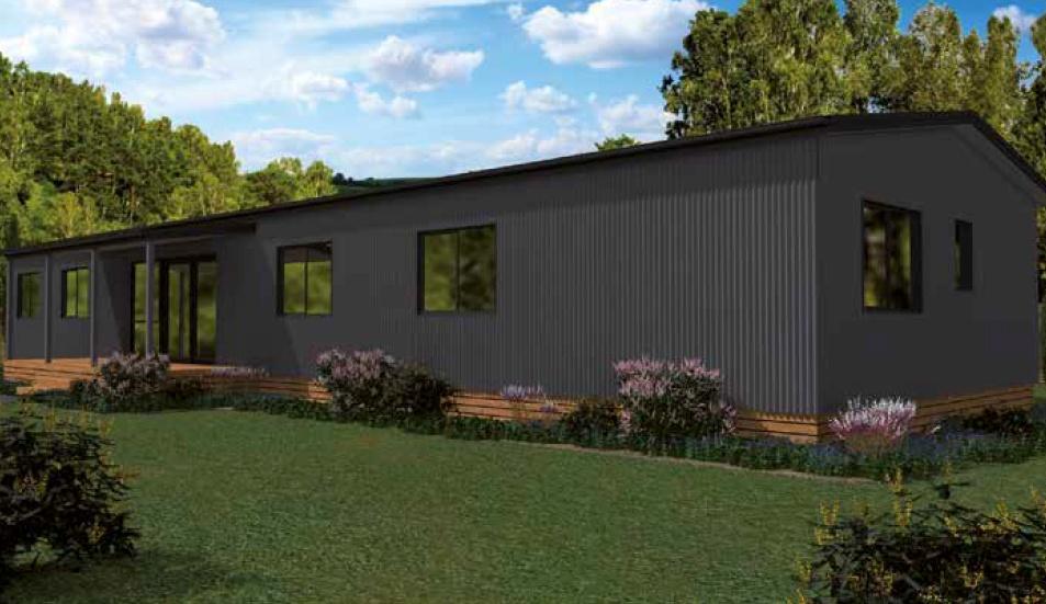Accommodation complex prefab building