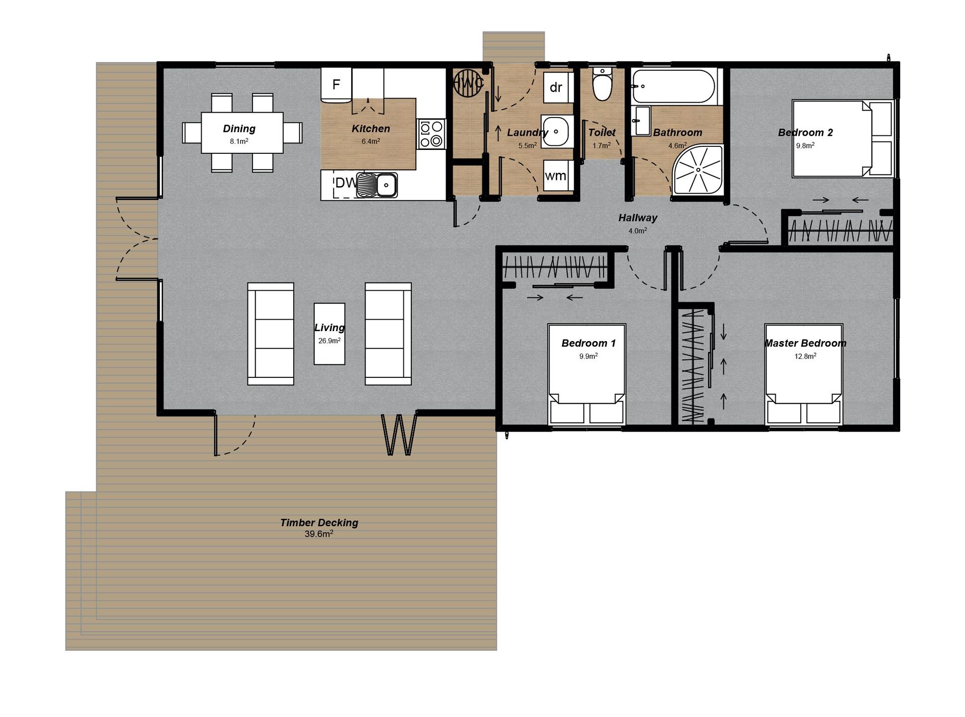 Aoraki Floorplan