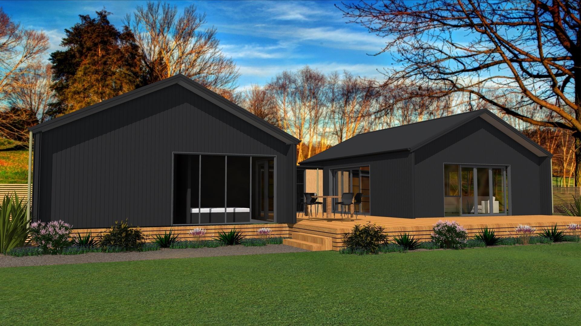 3 bedroom modern kitset house