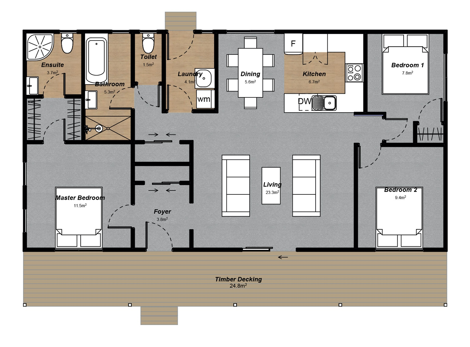 Brunner 3 Floorplan