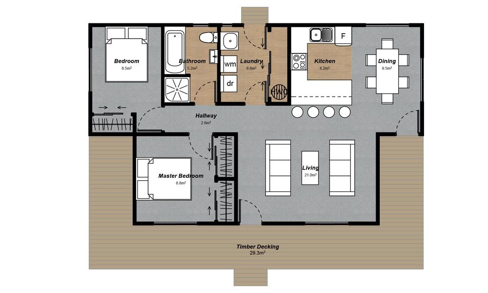 Milford Floorplan
