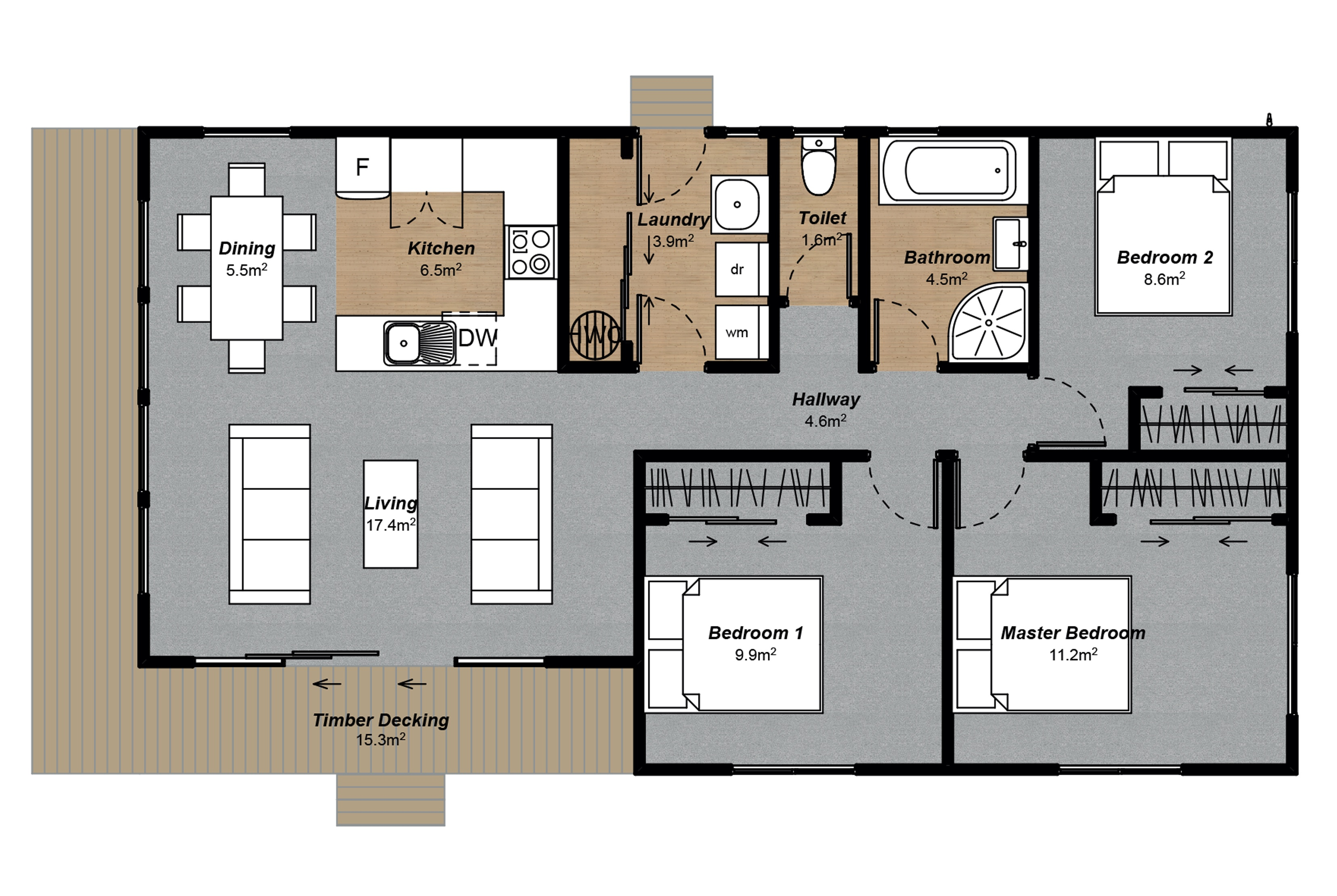 Oxford Modern Floorplan