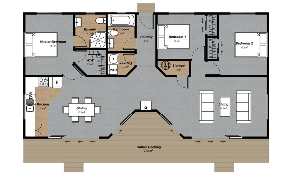 Pukaki design Floorplan