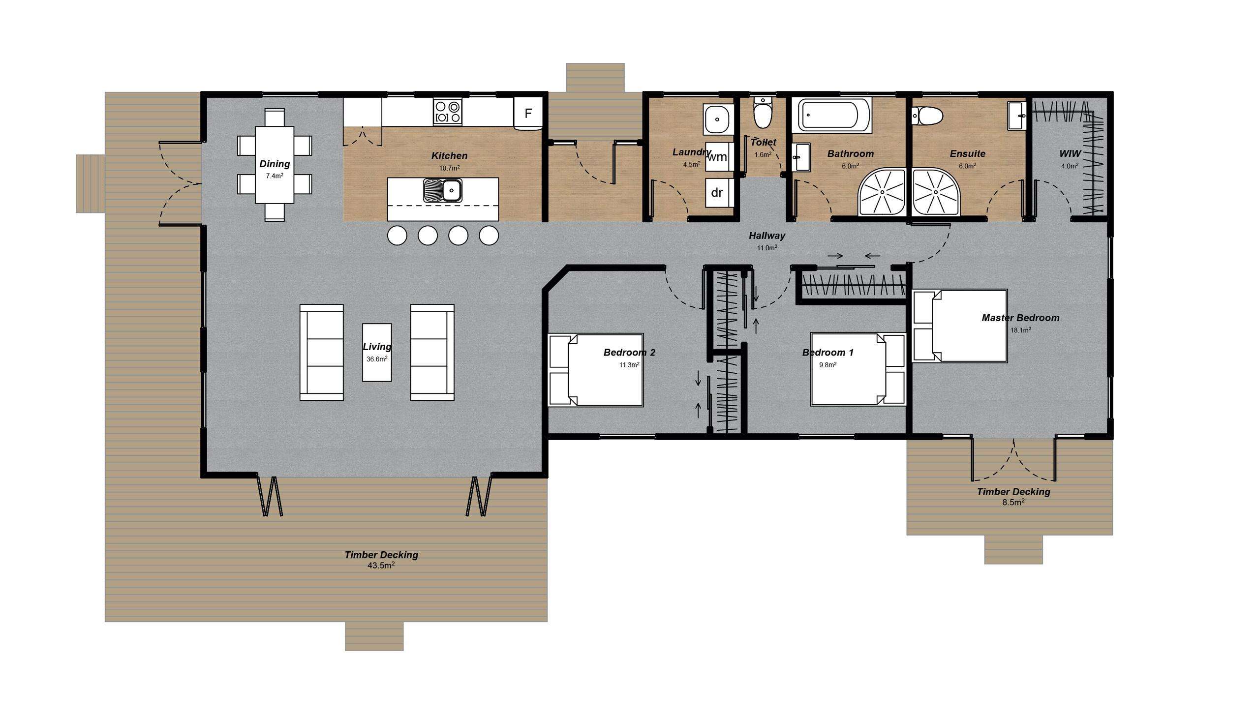 Rakaia Floorplan