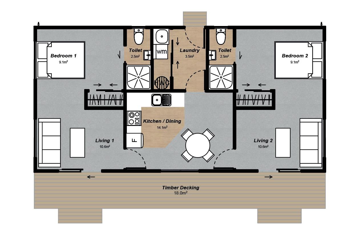 farm staff house floorplan