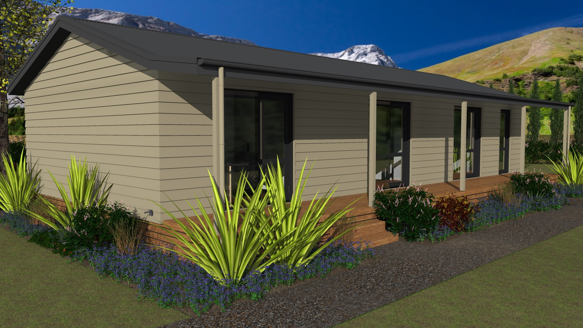 Prefabricated staff site accommodation