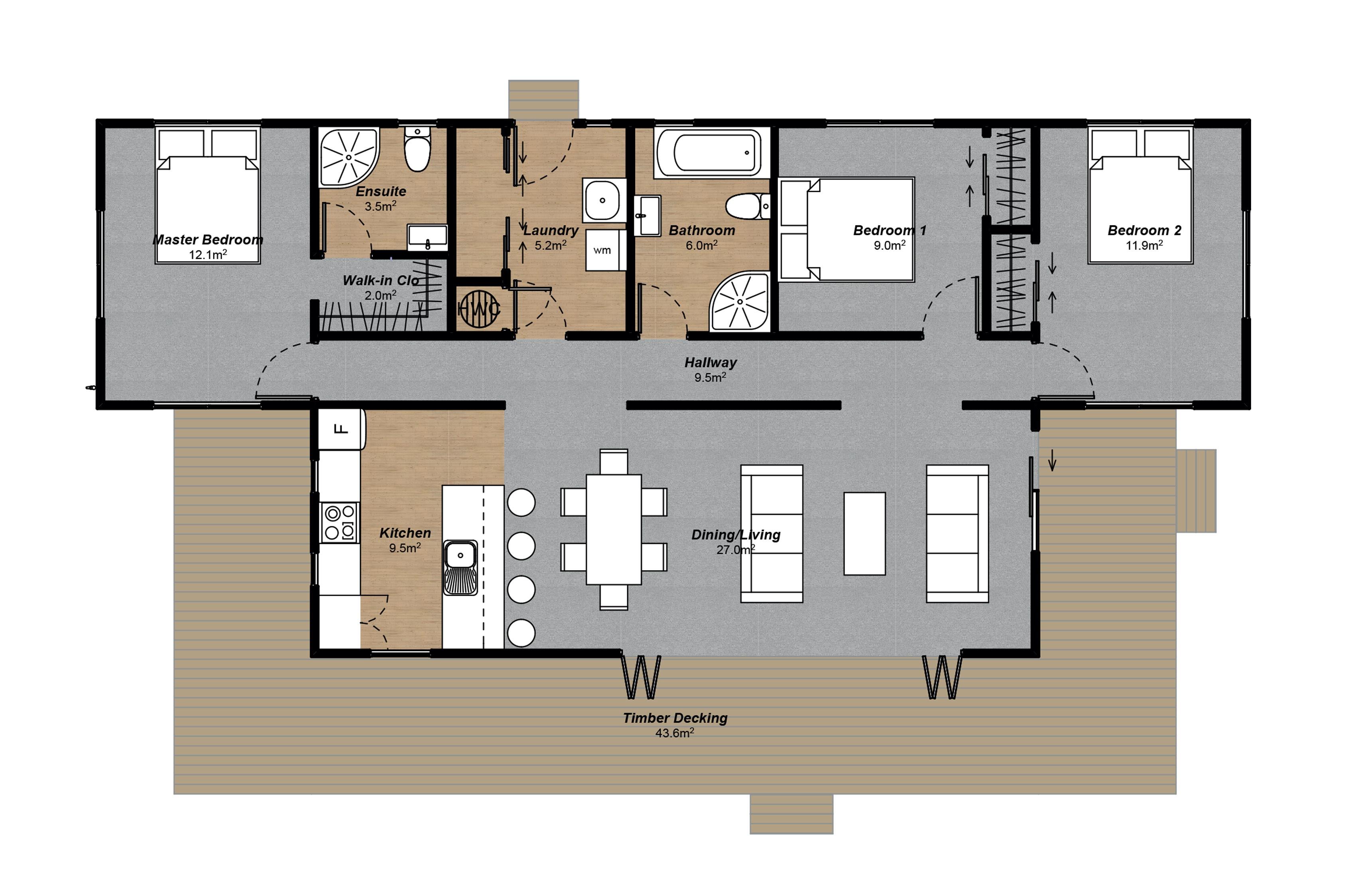 Taieri Floorplan