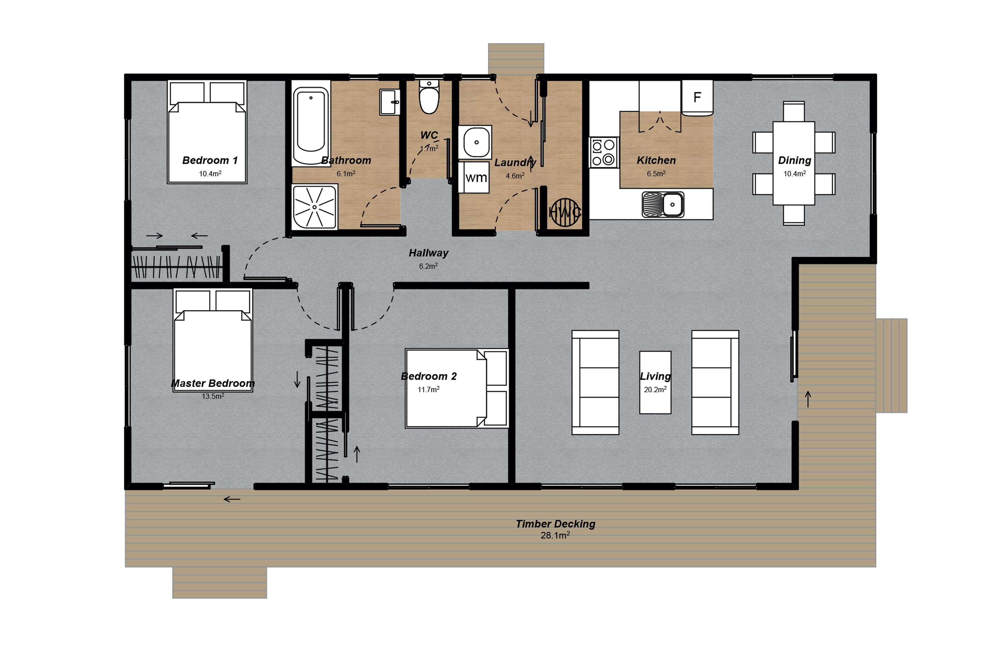 Villa 4 Floorplan