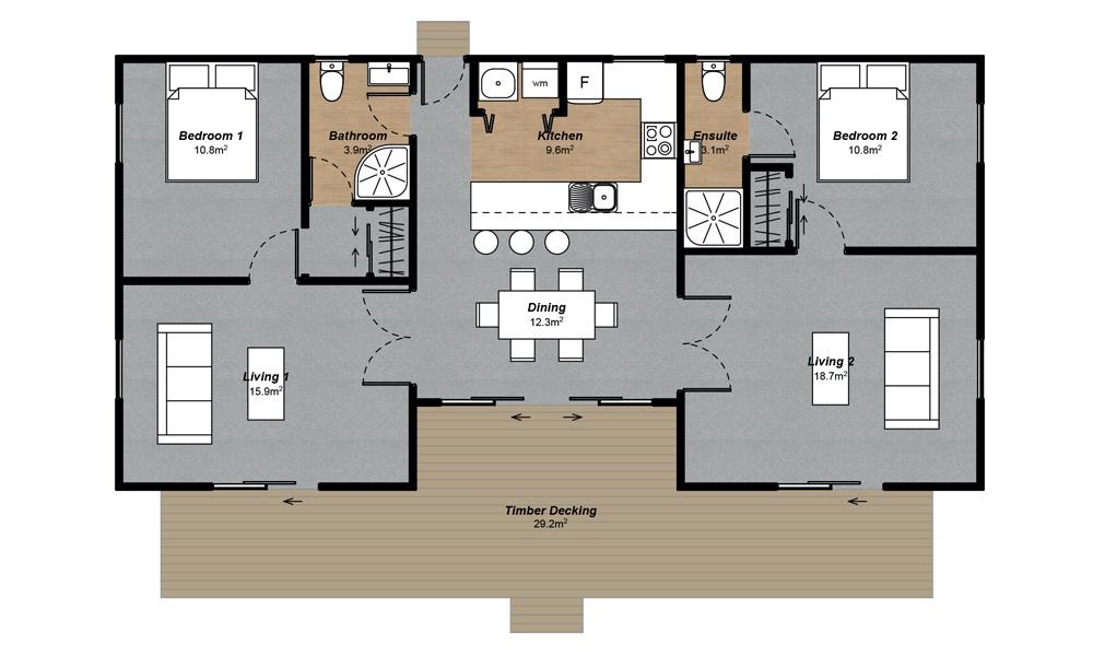 Kea Floorplan