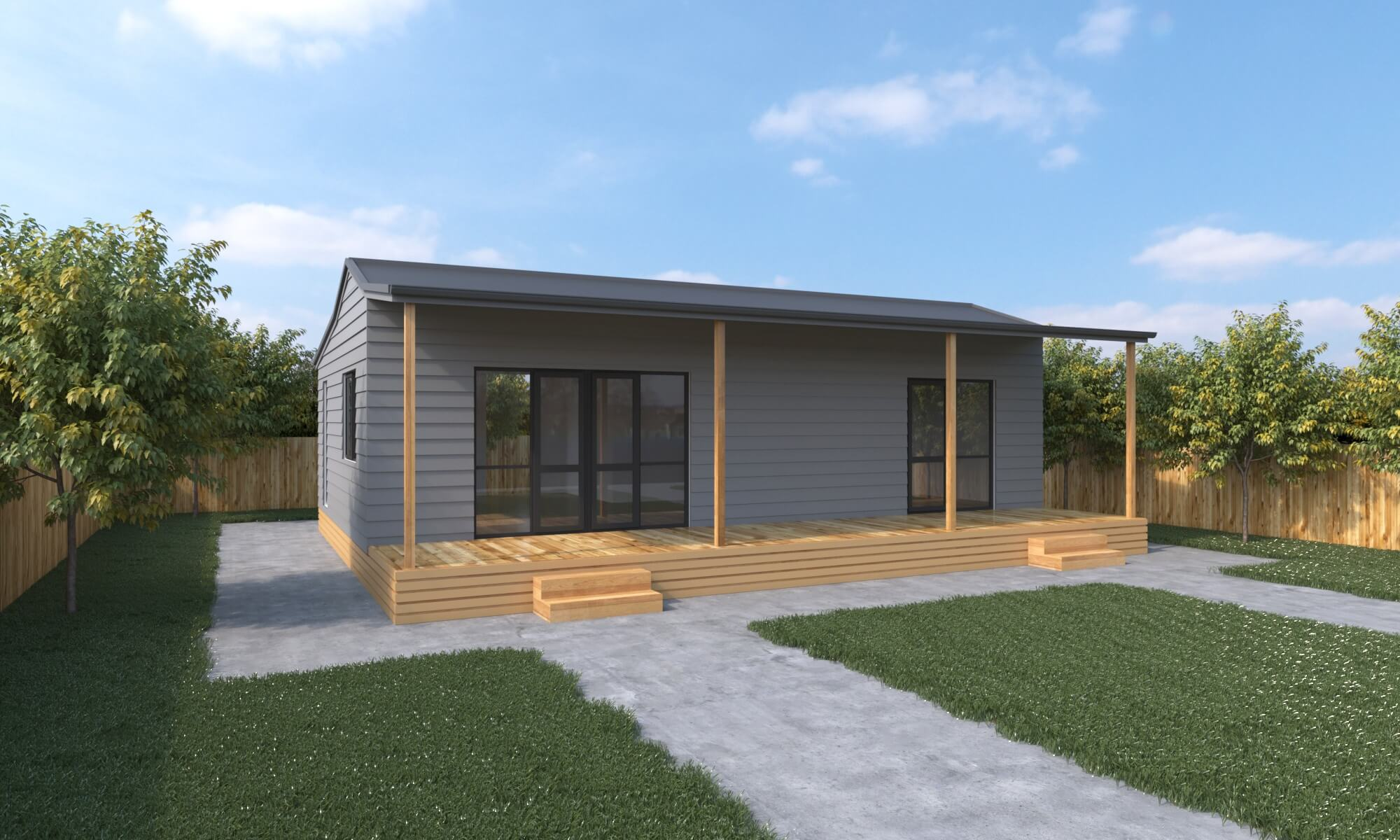 2 Bedroom prefab house - Cottage 2