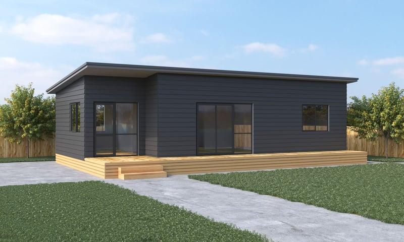 Euro - 2 Bedroom prefab home Genius Homes