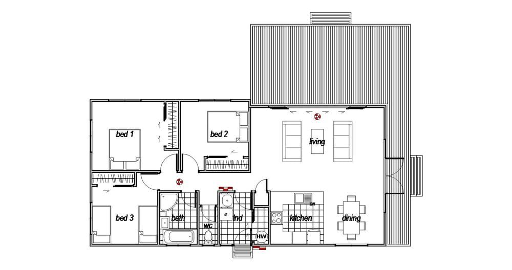 Aoraki - Floor Plan