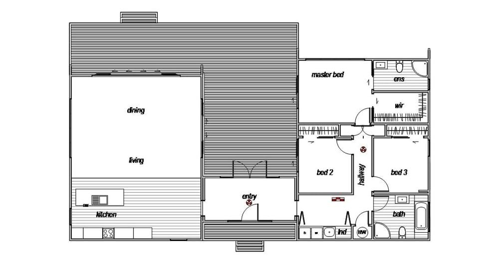 Benmore - Floor Plan