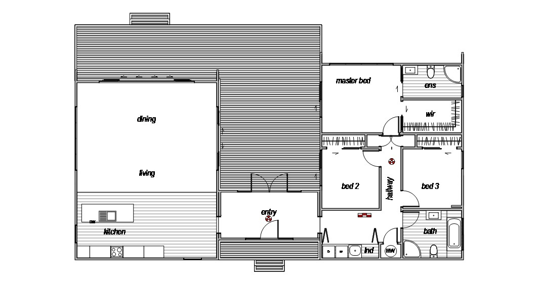Benmore - Floor Plan