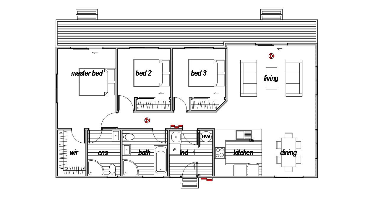 Hurunui - Floor Plan