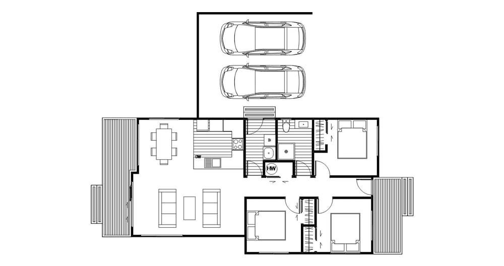 Kawarau - Floor Plan