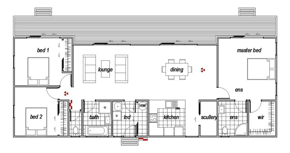 Kyeburn - Floor Plan