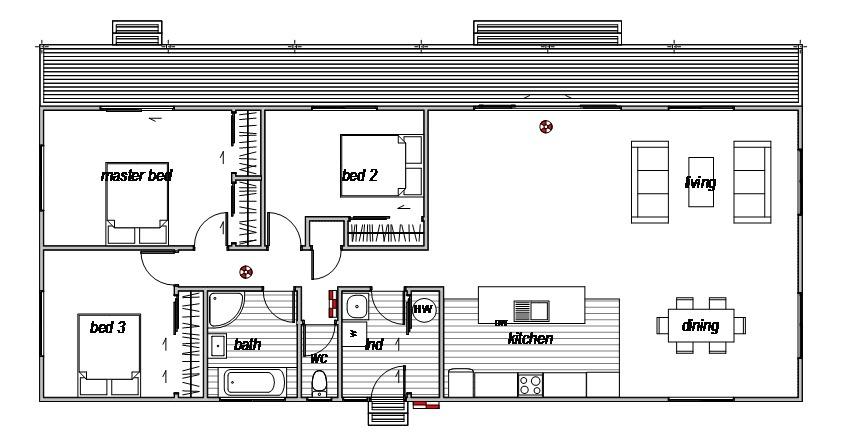 Mt Somers - Floor Plan