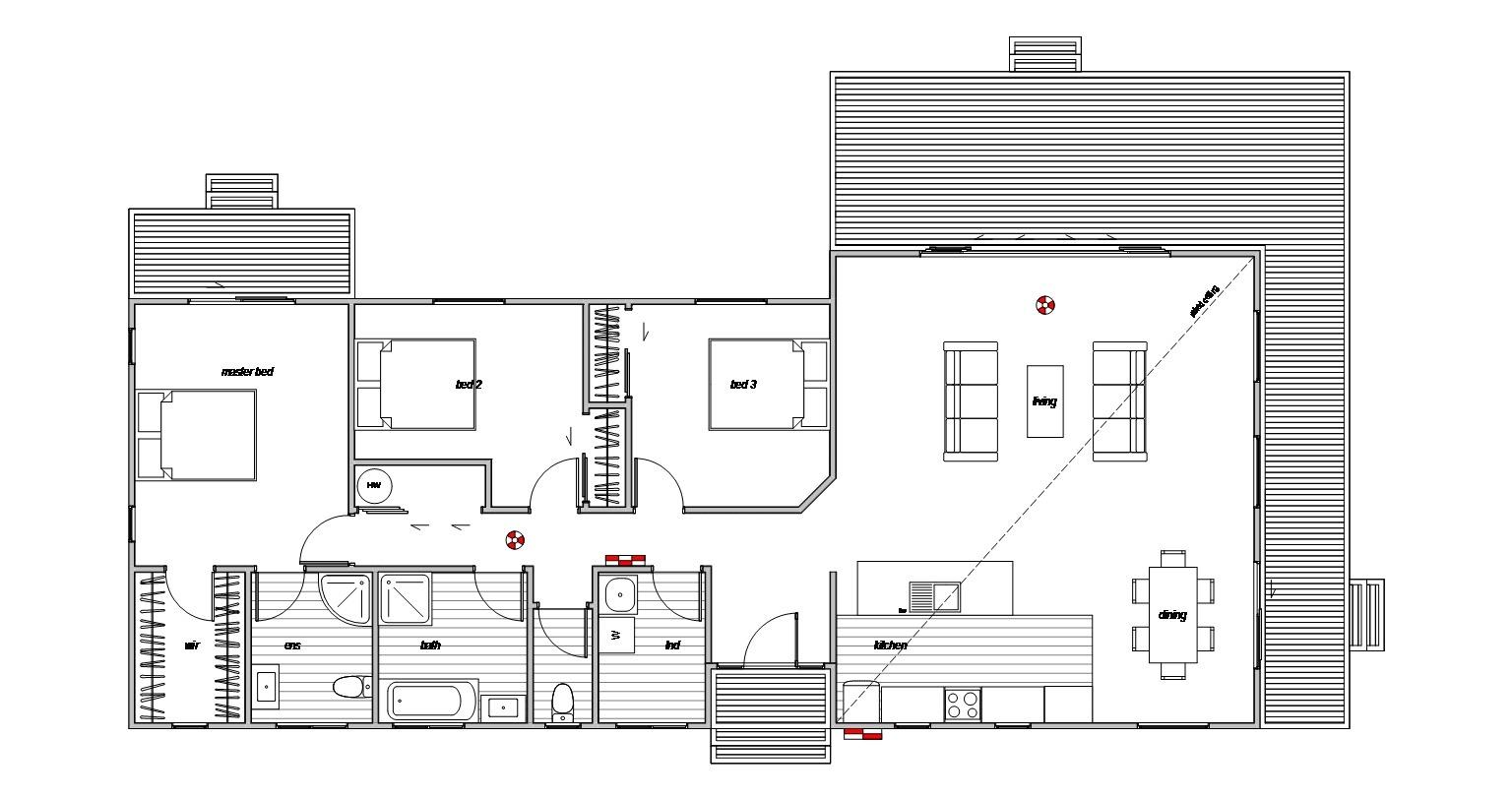 Rakaia 3 - Floor Plan