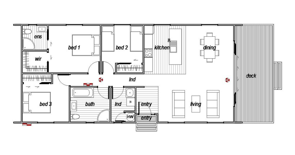Sefton - Floor Plan