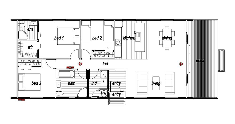 Sefton - Floor Plan