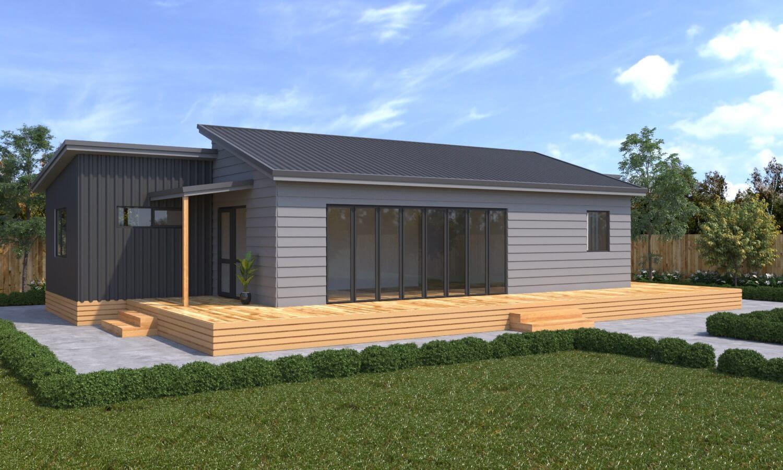 3 bedroom prefab home new build