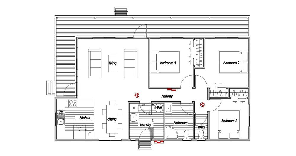 Villa 3 - Floor Plan