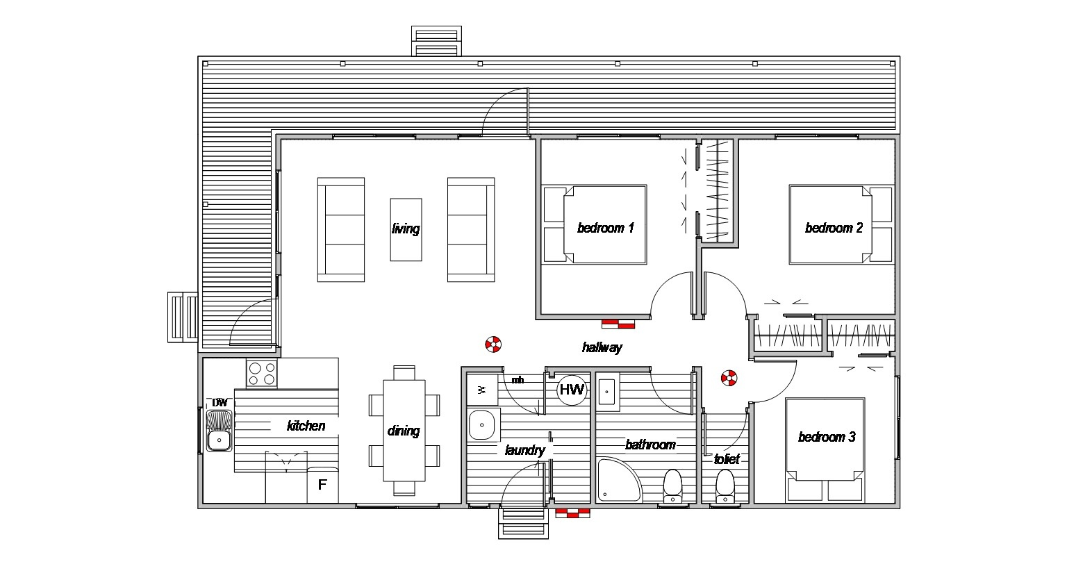 Villa 3 - Floor Plan