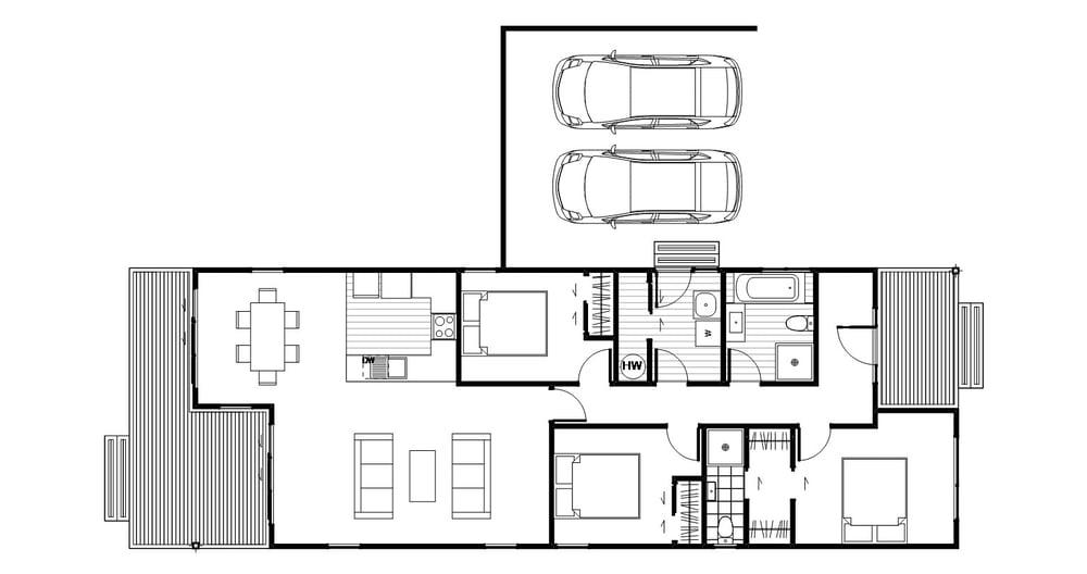 Wakatipu - Floor Plan