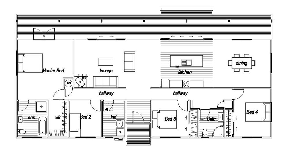 Lindis 4 - Floor Plan