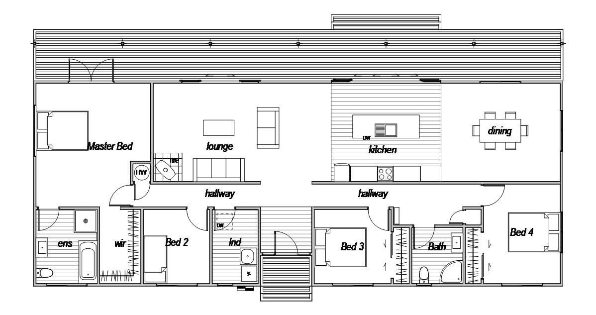 Lindis 4 - Floor Plan
