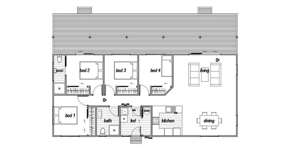 MacKenzie 4 - Floor Plan
