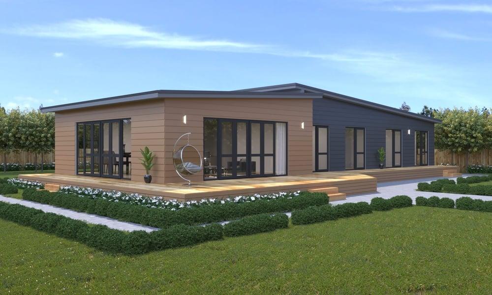 4 bedroom Genius Homes prefabricated home