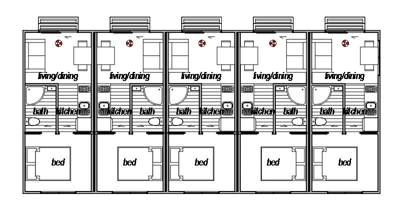 Accomodation Complex 2 - Floor Plan