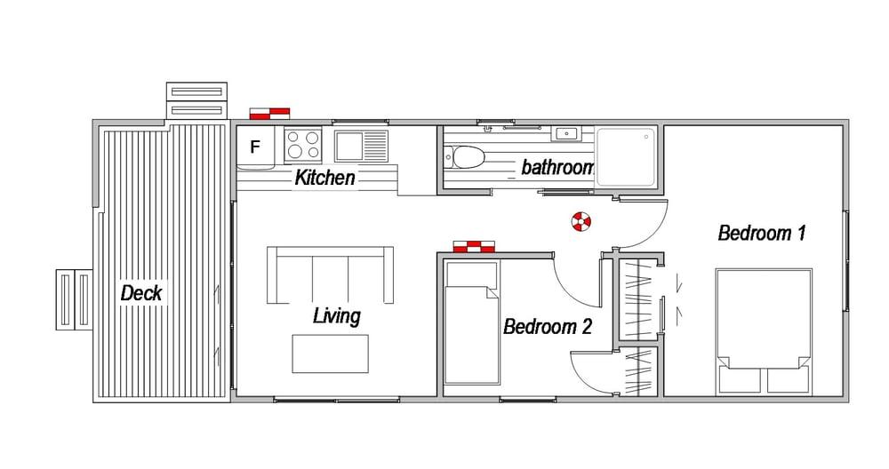 Nevis - Floor Plan