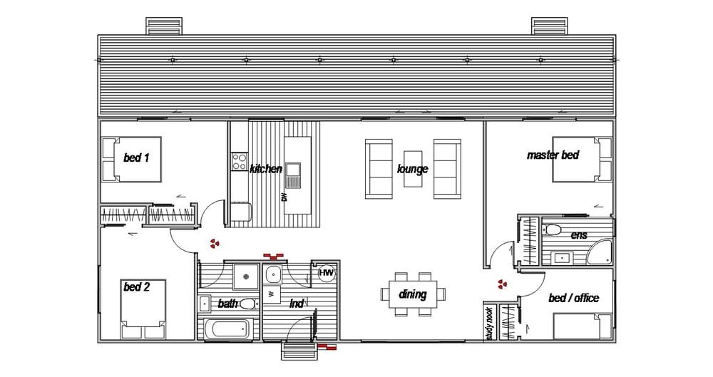 Methven Home - Floor Plan