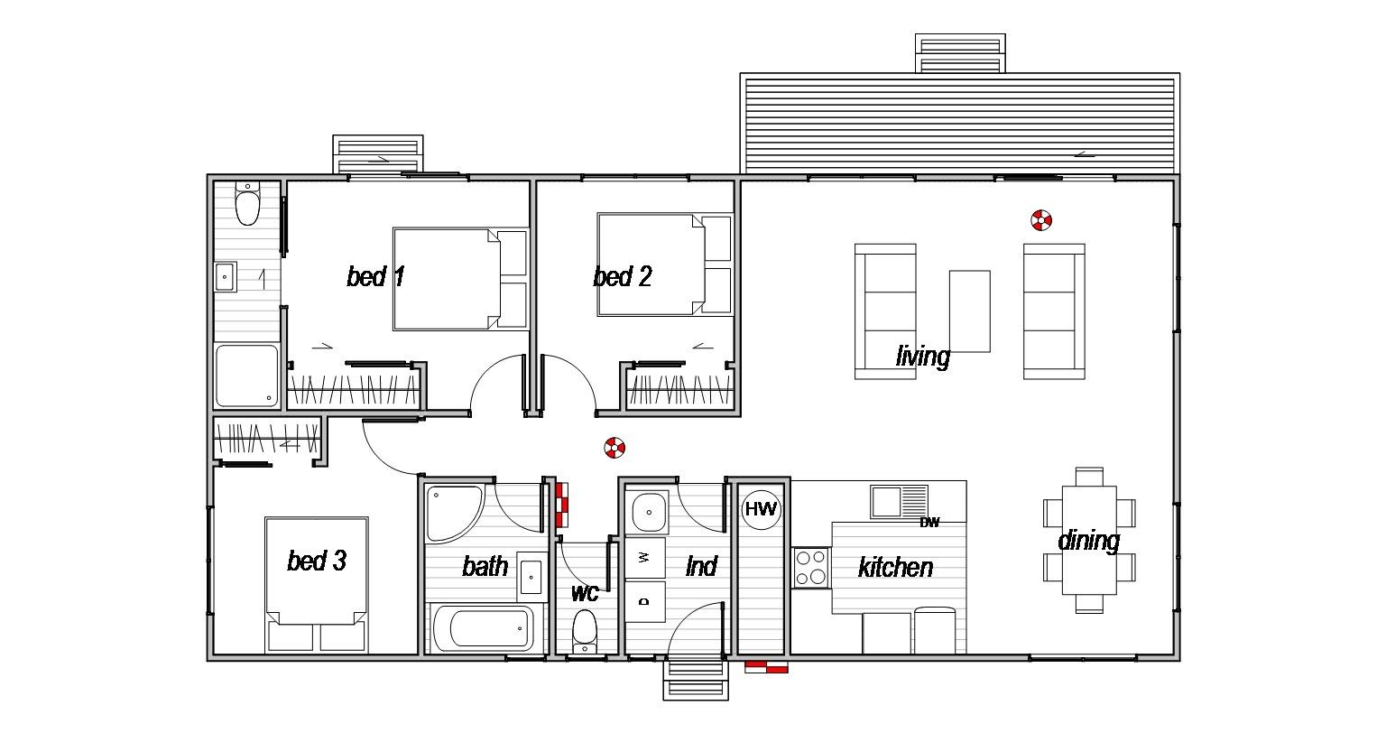 Mayfield - Floor Plan