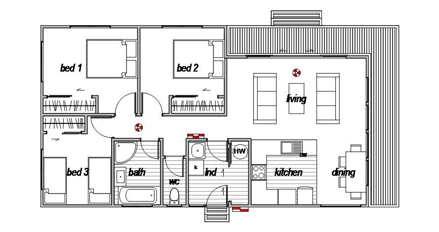 Oxford Modern - Floor Plan