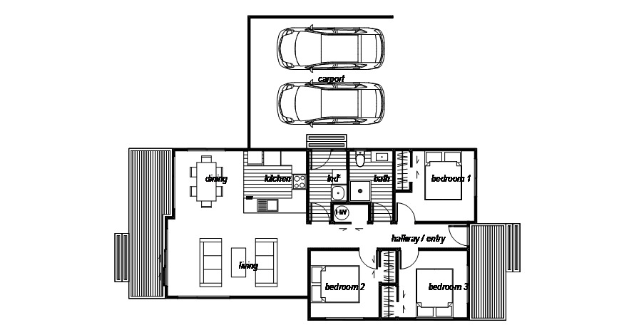 Kawarau - Floor Plan