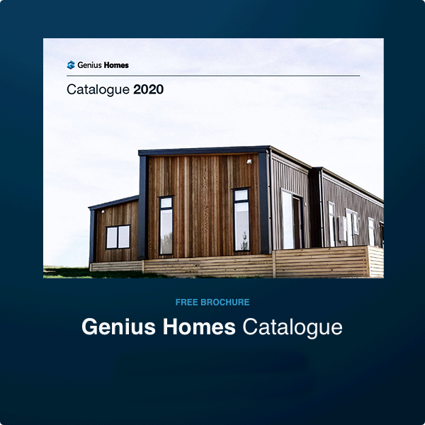 Genius Homes 2020 product brochure