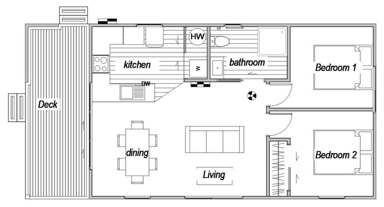 New build floor plan