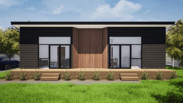 2 Bedroom house design