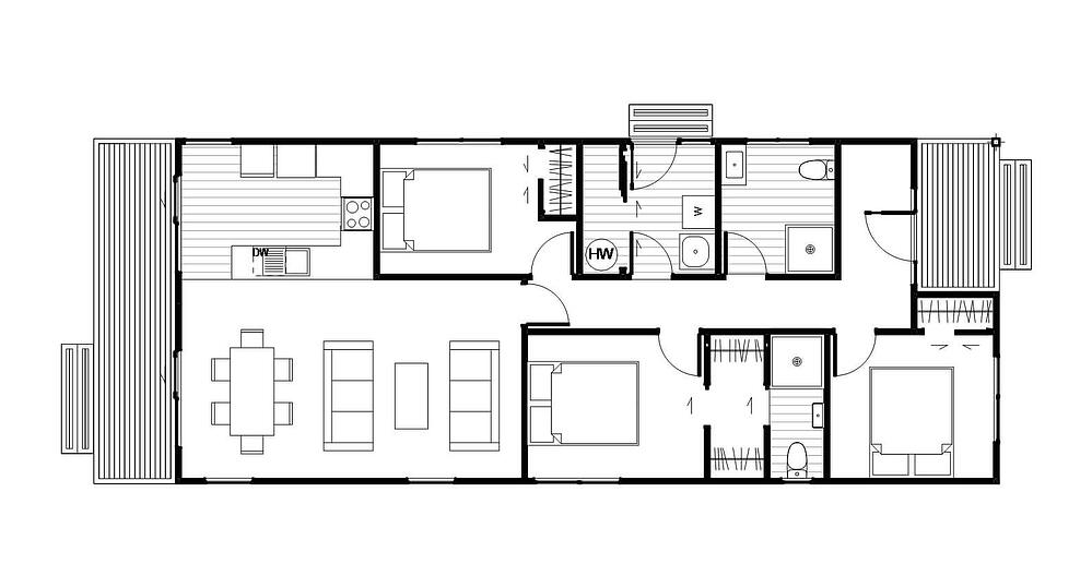 Glenorchy 3 Bedrooms, 2 Bathrooms