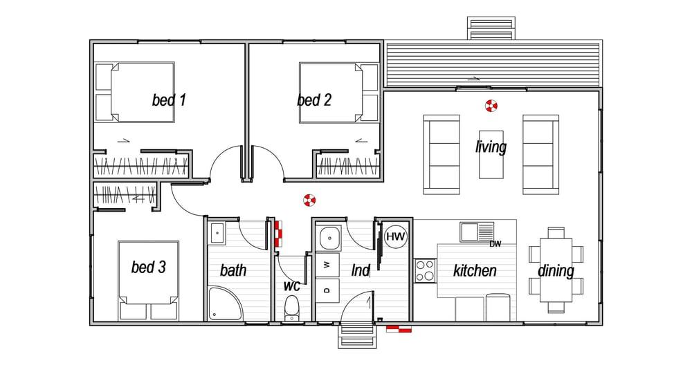 2IC Home - Floor Plan