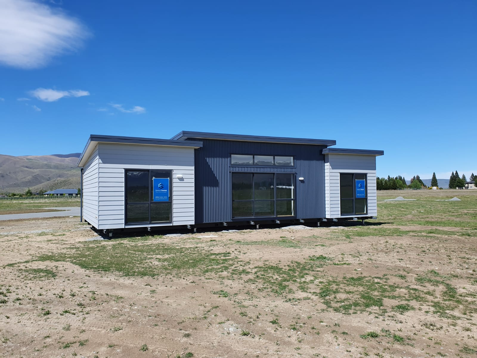 New prefab Home exterior design