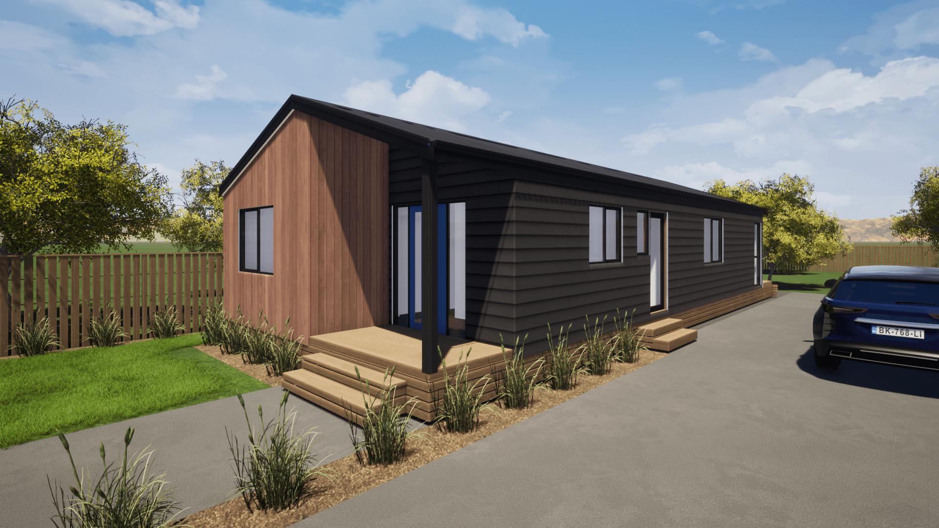 Narrow house design
