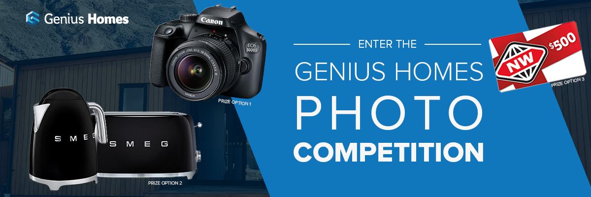 Genius Homes photo competition