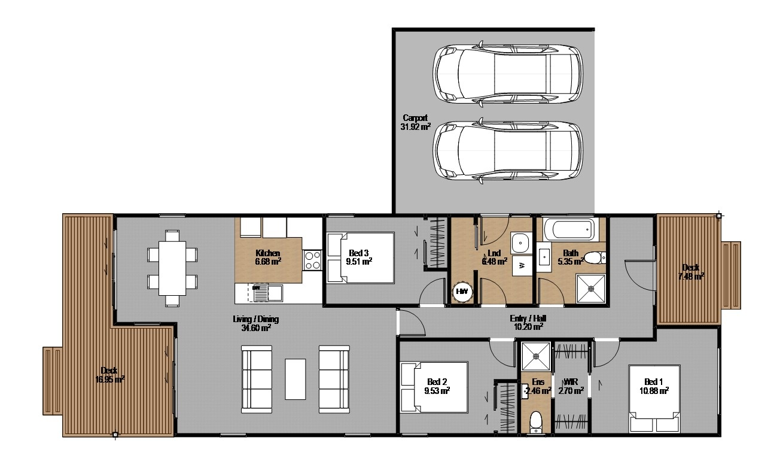 Wakatipu Hanleys farm 3 bedroom home
