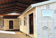 Visit the Genius Homes factory and see every stage of your house being built